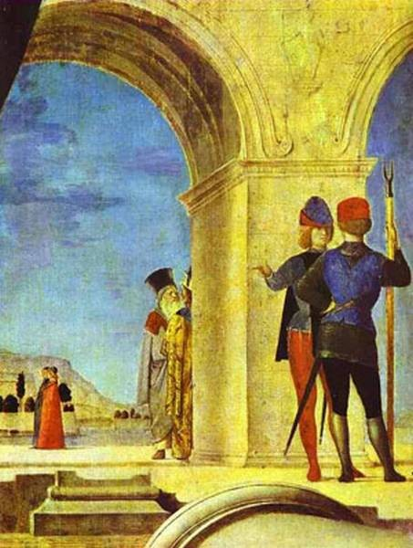 st sebastian detail 1475 76 XX the dresden gallery dresden germany